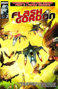 Cover Thumbnail for Flash Gordon: Invasion of the Red Sword (Ardden Entertainment, 2011 series) #3