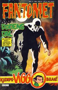Cover Thumbnail for Fantomet (Semic, 1976 series) #11/1985
