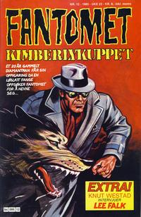 Cover Thumbnail for Fantomet (Semic, 1976 series) #12/1985