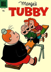 Cover Thumbnail for Marge's Tubby (Dell, 1953 series) #28 [15¢ edition]