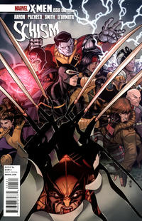 Cover Thumbnail for X-Men: Schism (Marvel, 2011 series) #1 [Nick Bradshaw Variant]