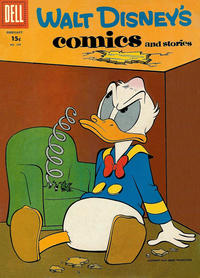 Cover Thumbnail for Walt Disney's Comics and Stories (Dell, 1940 series) #v18#5 (209) [15¢]