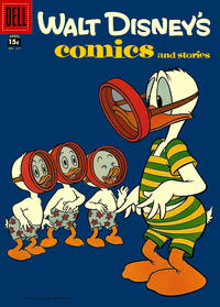 Cover Thumbnail for Walt Disney's Comics and Stories (Dell, 1940 series) #v18#7 (211) [15¢]