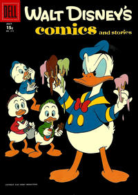 Cover Thumbnail for Walt Disney's Comics and Stories (Dell, 1940 series) #v18#10 (214) [15¢]