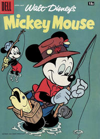 Cover Thumbnail for Mickey Mouse (Dell, 1952 series) #[59] [15¢ edition]