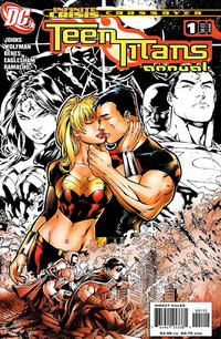 Cover Thumbnail for Teen Titans Annual (DC, 2006 series) #1 [Second Printing]