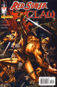 Cover Thumbnail for Red Sonja / Claw: The Devil's Hands (DC, 2006 series) #3 [Cover A]