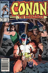 Cover Thumbnail for Conan the Barbarian (Marvel, 1970 series) #160 [Newsstand Edition]