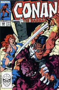 Cover Thumbnail for Conan the Barbarian (Marvel, 1970 series) #204 [Direct Edition]