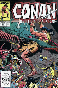 Cover Thumbnail for Conan the Barbarian (Marvel, 1970 series) #212 [Direct Edition]