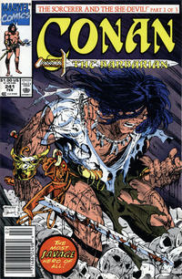 Cover for Conan the Barbarian (Marvel, 1970 series) #241 [Direct Edition]