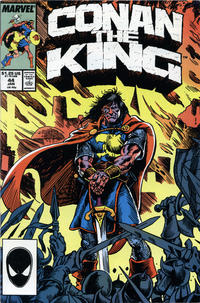Cover Thumbnail for Conan the King (Marvel, 1984 series) #44 [Direct Edition]