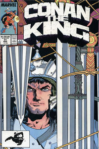 Cover Thumbnail for Conan the King (Marvel, 1984 series) #51 [Direct Edition]
