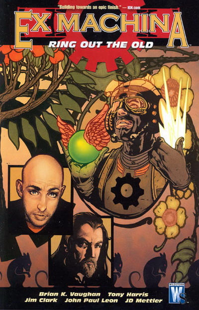 Cover for Ex Machina (DC, 2005 series) #9 - Ring Out the Old