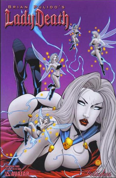 Cover for Brian Pulido's Lady Death: 2006 Fetishes Special (Avatar Press, 2006 series)  [Hellish]