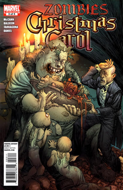Cover for Marvel Zombies Christmas Carol (Marvel, 2011 series) #3