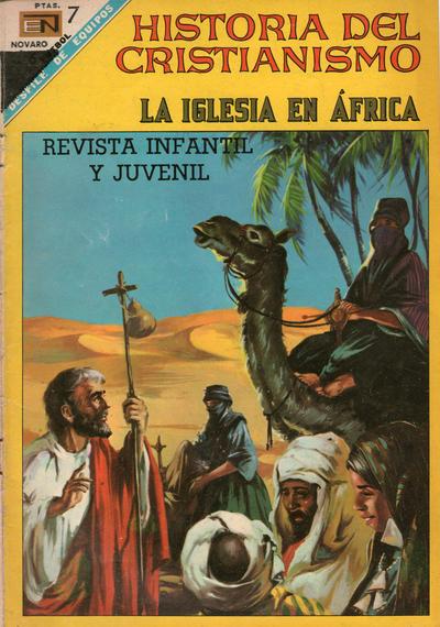 Cover for Historia del Cristianismo (Editorial Novaro, 1966 series) #21