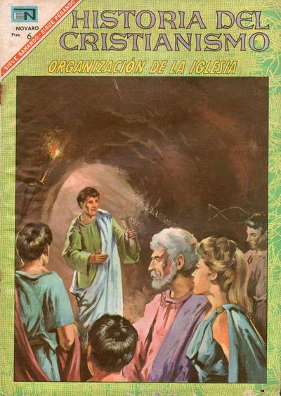 Cover for Historia del Cristianismo (Editorial Novaro, 1966 series) #12
