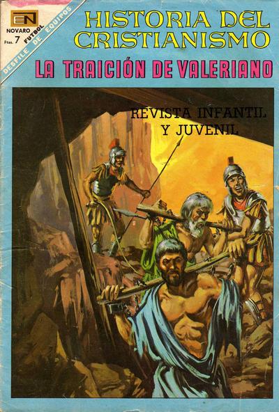 Cover for Historia del Cristianismo (Editorial Novaro, 1966 series) #22