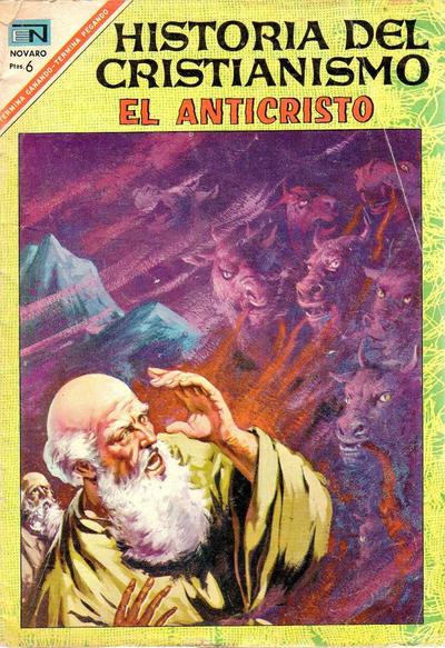 Cover for Historia del Cristianismo (Editorial Novaro, 1966 series) #14
