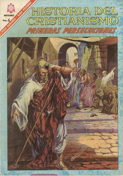 Cover for Historia del Cristianismo (Editorial Novaro, 1966 series) #4