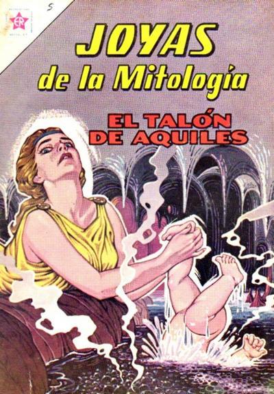 Cover for Joyas de la Mitología (Editorial Novaro, 1962 series) #5