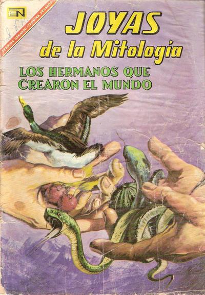 Cover for Joyas de la Mitología (Editorial Novaro, 1962 series) #67