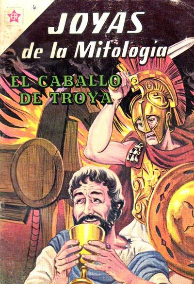 Cover for Joyas de la Mitología (Editorial Novaro, 1962 series) #6