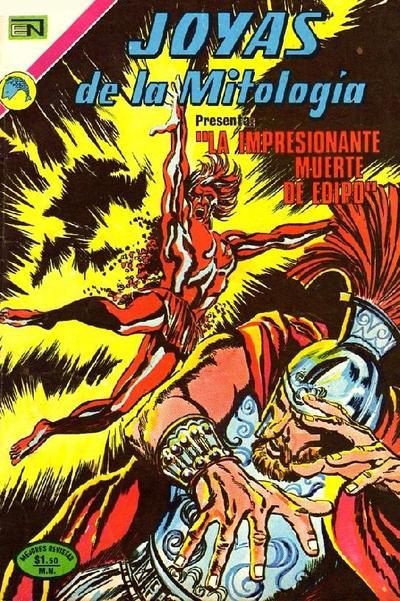 Cover for Joyas de la Mitología (Editorial Novaro, 1962 series) #204