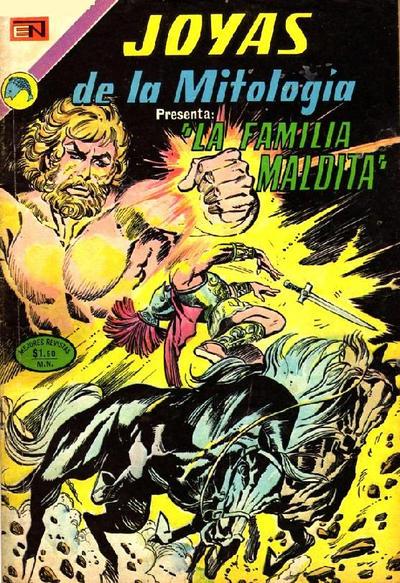 Cover for Joyas de la Mitología (Editorial Novaro, 1962 series) #207