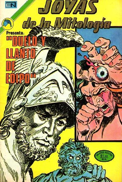 Cover for Joyas de la Mitología (Editorial Novaro, 1962 series) #202