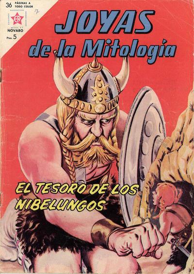 Cover for Joyas de la Mitología (Editorial Novaro, 1962 series) #7