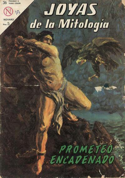 Cover for Joyas de la Mitología (Editorial Novaro, 1962 series) #13
