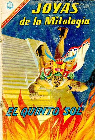 Cover for Joyas de la Mitología (Editorial Novaro, 1962 series) #53