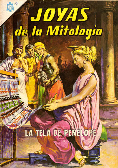 Cover for Joyas de la Mitología (Editorial Novaro, 1962 series) #33