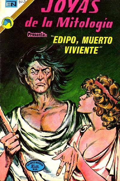 Cover for Joyas de la Mitología (Editorial Novaro, 1962 series) #203