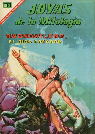 Cover for Joyas de la Mitología (Editorial Novaro, 1962 series) #70