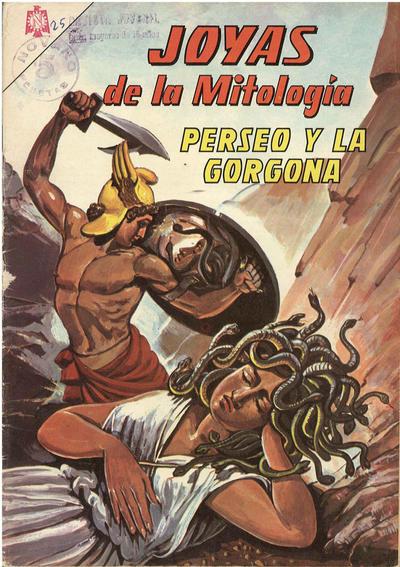 Cover for Joyas de la Mitología (Editorial Novaro, 1962 series) #25