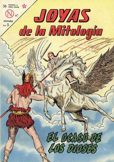 Cover for Joyas de la Mitología (Editorial Novaro, 1962 series) #10