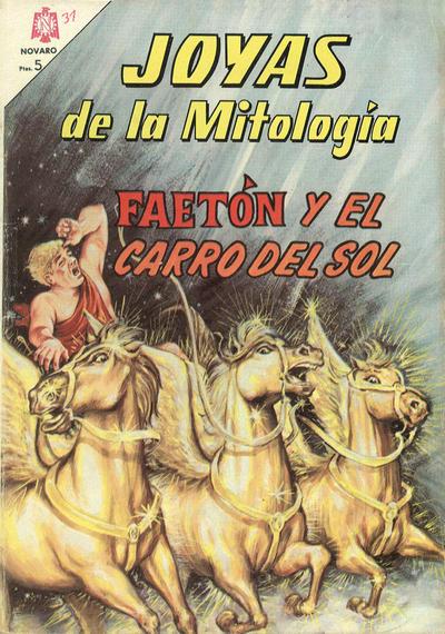 Cover for Joyas de la Mitología (Editorial Novaro, 1962 series) #31