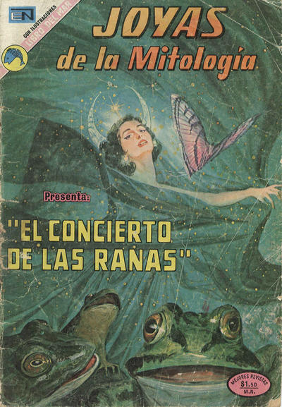 Cover for Joyas de la Mitología (Editorial Novaro, 1962 series) #225