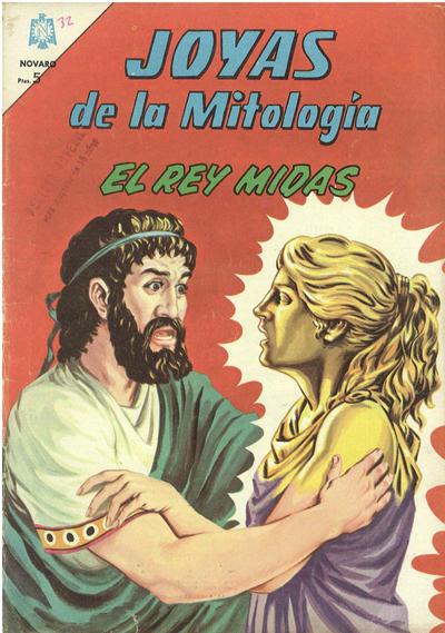 Cover for Joyas de la Mitología (Editorial Novaro, 1962 series) #32