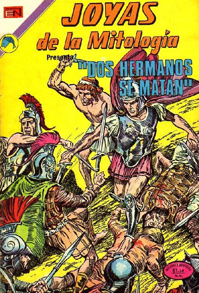 Cover for Joyas de la Mitología (Editorial Novaro, 1962 series) #206