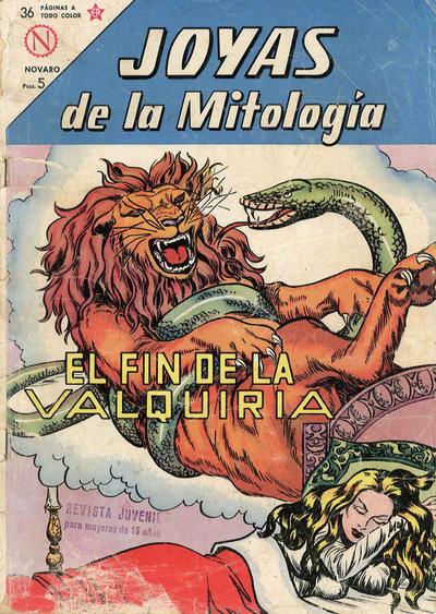 Cover for Joyas de la Mitología (Editorial Novaro, 1962 series) #11