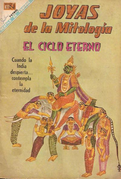 Cover for Joyas de la Mitología (Editorial Novaro, 1962 series) #86