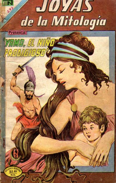 Cover for Joyas de la Mitología (Editorial Novaro, 1962 series) #293