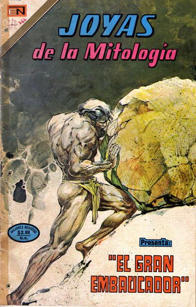 Cover for Joyas de la Mitología (Editorial Novaro, 1962 series) #262