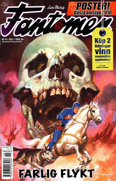 Cover for Fantomen (Egmont, 1997 series) #15/2011