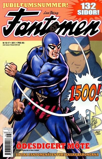 Cover for Fantomen (Egmont, 1997 series) #16-17/2011