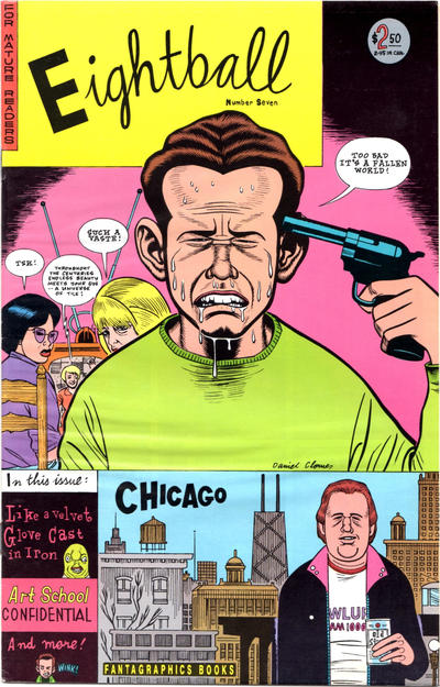 Cover for Eightball (Fantagraphics, 1989 series) #7 [Second Printing]